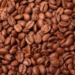 Keskipaahtoisia kahvipapuja kuva täynnä.